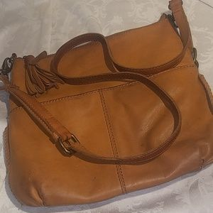 Lucky Brand Satchel Crossbody Purse